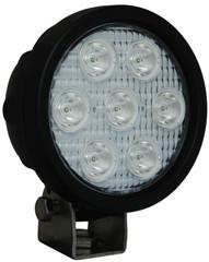 "AMBER LED XIL-UM4040A 4"" Round Utility Market LED Work Light by VISION X"