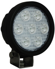 "WHITE LED XIL-UM4040 4"" Round Utility Market LED Work Light by VISION X"