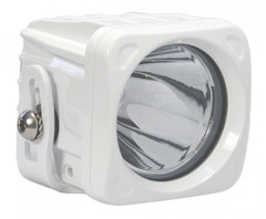 "3"" SQUARE OPTIMUS LED SPOT LIGHT 10 WATT WHITE HOUSING - Vision X XIL-OP110W 9124513"