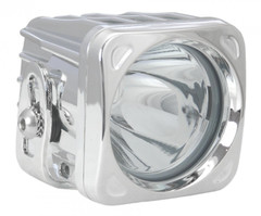 "3"" SQUARE OPTIMUS LED SPOT LIGHT 10 WATT CHROME HOUSING - Vision X XIL-OP110C 9124247"