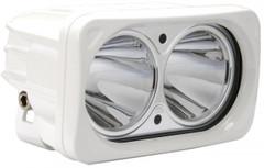 OPTIMUS LED SPOT LIGHT 20 WATT WHITE HOUSING - Vision X XIL-OP210W 9124964