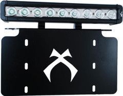 "Vision X License Plate Bracket and 12"" Xmitter Low Profile Prime  60° Combo"