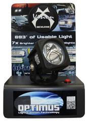 Optimus LED light countertop display