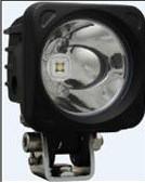 "10° SPOT BEAM MIL-OP110 3"" SQUARE OPTIMUS LED SPOT LIGHT STUD MOUNT BLACK HOUSING"
