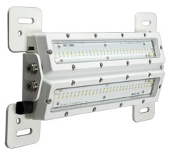 "Vision X MIL-SWD1220W SHOCKWAVE DUAL MINING INDUSTRIAL LED LIGHT 12"" LENGTH 20 WATT White"