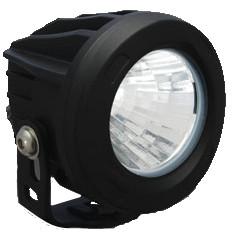 60° WIDE BEAM XIL-OPR160 ROUND OPTIMUS LED SPOT LIGHT *NEW* - Vision X XIL-OPR160 9141169