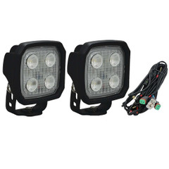 40° Duralux 2000 Lumen High Performance 20 Watt LED Flood Lights With harness