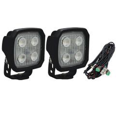 40° Duralux 2000 Lumen High Performance 20 Watt LED Flood Lights With harness