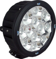 "90° wide beam 6.5"" ROUND TRANSPORTER LED DRIVING LIGHT 60 Watt VISION X CTL-TPX1290"