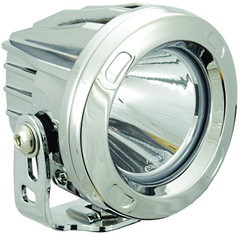 60° SPOT BEAM ROUND OPTIMUS LED LIGHT CHROME FINISH *NEW* - Vision X XIL-OPR160C 9149448