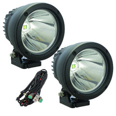 Flood Beam Cannon LED Light Kit. 2 Light Cannons, Two Removable Flood-Beam Covers and a Free Wire Harness CTL-CPZ110
