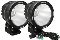 50 WATT LED LIGHT CANNON 10° TWO-LIGHT KIT - Vision X CTL-CPZ610KIT 9888545
