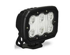 60° Wide Beam Duralux 3000 Lumen 30 Watt LED Flood Light.  Vision X DURA-660 9888385