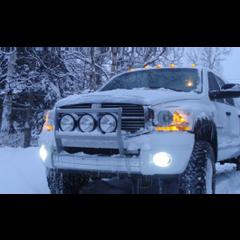 Dodge Ram 02-10 Fog Light Xtreme Upgrade Kit 7000 Lumen!  XIL-OE0210DRUMX