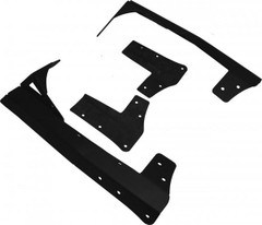 "Jeep JK windshield mount for LED light bars.  Fits Vision X 50"" light bars."