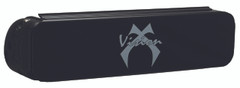 "9"" BLACK COVER FOR 6 LED SINGLE ROW LIGHT BARS - Vision X PCV-LP6BL 9155388"
