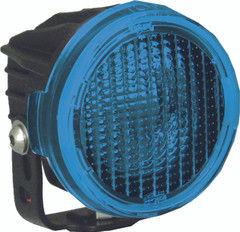 OPTIMUS ROUND SERIES PCV BLUE COVER FLOOD BEAM - Vision X PCV-OPR1BFL 9889573