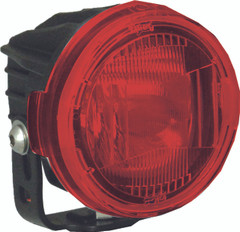 OPTIMUS ROUND SERIES PCV RED COVER EURO BEAM - Vision X PCV-OPR1REU 9889726