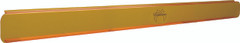 YELLOW PC COVER FOR 90 LED X MITTER PRIME LED LIGHT BARS. Vision X PCV-P90Y