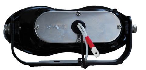 "6"" x 2.4"" x 2.8"" BLACK DUAL 55 WATT FOG/DRIVING LAMP. Vision X VX-119 (Back) Easy Bulb Replacement"