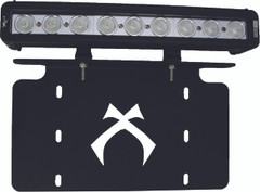 "LICENSE PLATE BRACKET WITH 12"" LOW PROFILE LIGHT BAR. Vision X XIL-LICENSEPLP910"