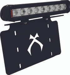 "LICENSE PLATE BRACKET WITH 12"" LOW PROFILE XTREME LIGHT BAR - Vision X XIL-LICENSEPLPX910 9887012"