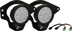 02-08 DODGE RAM FOG LIGHT KIT WITH XIL-UM4010 LIGHT. Vision X XIL-OE0210DRUM