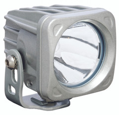 OPTIMUS SQUARE SILVER 1 10W LED 10° NARROW. Vision X XIL-OP110S