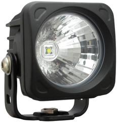 OPTIMUS SQUARE BLACK 1 10W LED 20° MEDIUM. Vision X XIL-OP120