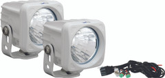 OPTIMUS SQUARE WHITE 1 10W LED 20° MEDIUM KIT OF 2 LIGHTS - Vision X XIL-OP120WKIT 9148274