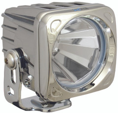 OPTIMUS SQUARE CHROME 1 10W LED 60° FLOOD - Vision X XIL-OP160C 9139272