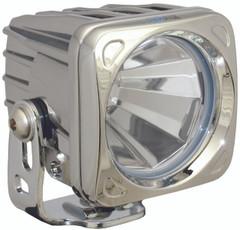 OPTIMUS SQUARE CHROME 1 10W LED 60° FLOOD. Vision X XIL-OP160C
