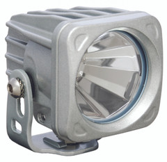 OPTIMUS SQUARE SILVER 1 10W LED 60° FLOOD. Vision X XIL-OP160S