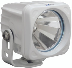 OPTIMUS SQUARE WHITE 1 10W LED 60° FLOOD - Vision X XIL-OP160W 9139364