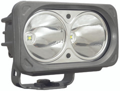 OPTIMUS SQUARE SILVER  2 10W LEDS 10° NARROW. Vision X XIL-OP210S