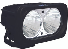 OPTIMUS SQUARE BLACK 2 10W LEDS LIGHT 20° MEDIUM - Vision X XIL-OP220 9139548