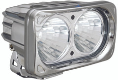 OPTIMUS SQUARE CHROME 2 10W LEDS 20° MEDIUM - Vision X XIL-OP220C 9166636