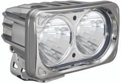 OPTIMUS SQUARE CHROME 2 10W LEDS 20° MEDIUM. Vision X XIL-OP220C