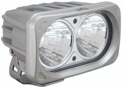 OPTIMUS SQUARE SILVER 2 10W LEDS 20° MEDIUM. Vision X XIL-OP220S