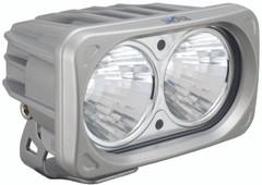 OPTIMUS SQUARE SILVER 2 10W LEDS 20° MEDIUM. Vision X XIL-OP220S