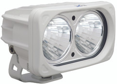 OPTIMUS SQUARE WHITE 2 10W LEDS 20° MEDIUM - Vision X XIL-OP220W 9139630