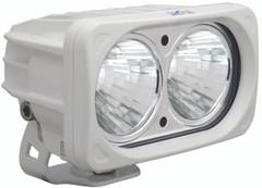 OPTIMUS SQUARE WHITE 2 10W LEDS 20° MEDIUM. Vision X XIL-OP220W