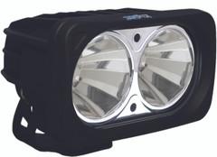 OPTIMUS SQUARE BLACK 2 10W LEDS 60° FLOOD. Vision X XIL-OP260