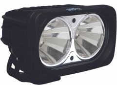 OPTIMUS SQUARE BLACK 2 10W LEDS 60° FLOOD - Vision X XIL-OP260 9136660