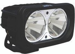 OPTIMUS SQUARE CHROME 2 10W LEDS 60° FLOOD - Vision X XIL-OP260C 9159348
