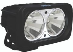 OPTIMUS SQUARE CHROME 2 10W LEDS 60° FLOOD. Vision X XIL-OP260C