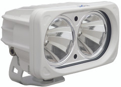 OPTIMUS SQUARE WHITE 2 10W LEDS 60° FLOOD - Vision X XIL-OP260W 9139722