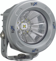 OPTIMUS ROUND SILVER 1 10W LED 60° FLOOD. Vision X XIL-OPR160S