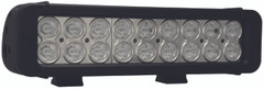 "11"" XMITTER PRIME LED BAR BLACK EIGHTEEN 3-WATT LED'S 30ºX65º DEGREE ELLIPTICAL BEAM. Vision X XIL-P18e3065"