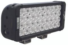 """18"""" XMITTER PRIME DOUBLE STACK LED BAR BLACK SIXTY 3-WATT LED'S 30ºX65º DEGREE ELLIPTICAL BEAM. Vision X XIL-P2.30e3065"""